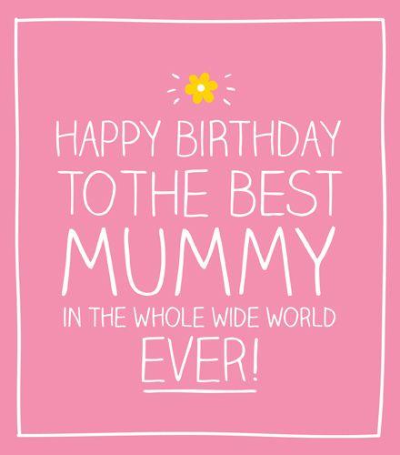 Best Mummy  Birthday Cards - MUM Birthday CARDS - MUMMY Birthday CARD - Hap
