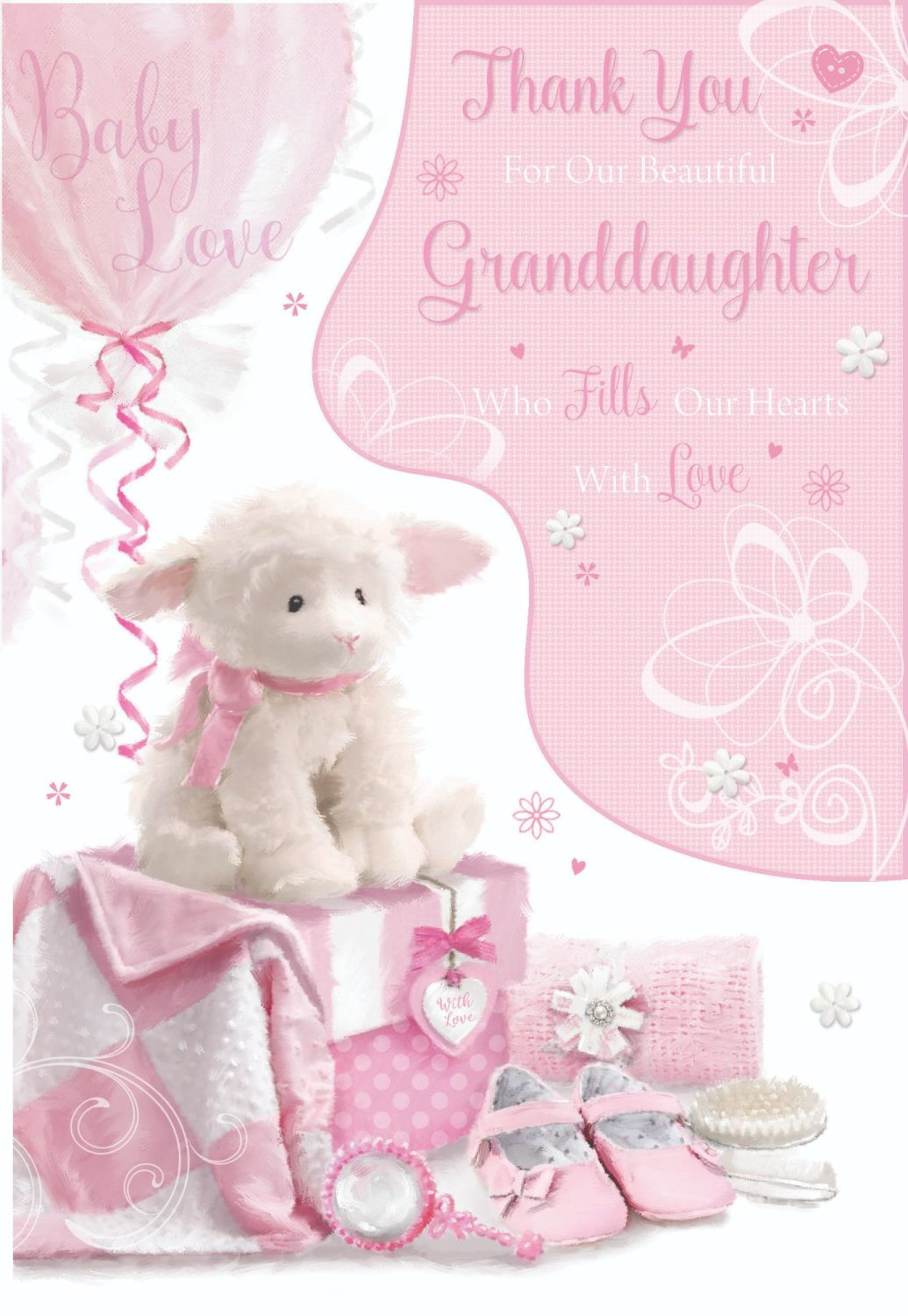 Thank You For Our Beautiful Granddaughter - WHO Fills Our HEARTS With LOVE