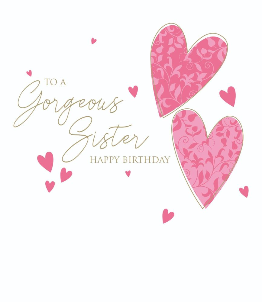 Birthday Cards For Sisters - To A GORGEOUS Sister - Happy BIRTHDAY Wishes -