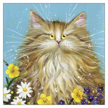 Blank Greeting Cards - CARDS For CAT Lovers - CUTE Cat Blank GREETING Cards - Any OCCASION Blank CARDS - Art Greeting CARDS - Birthday - Thank YOU