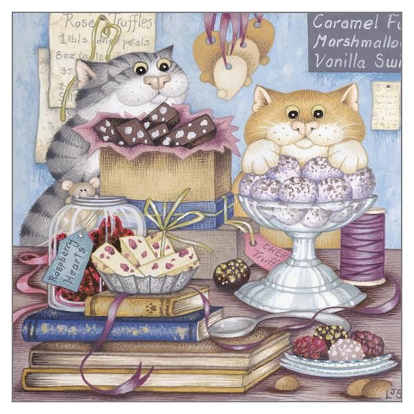 Blank Greeting Cards - CARDS For CAT Lovers - FUNNY Blank GREETING Cards -