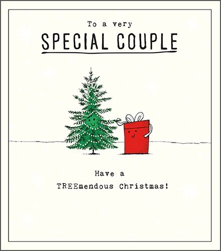 To A VERY Special COUPLE Christmas CARD - Couple CHRISTMAS Cards - Have A T