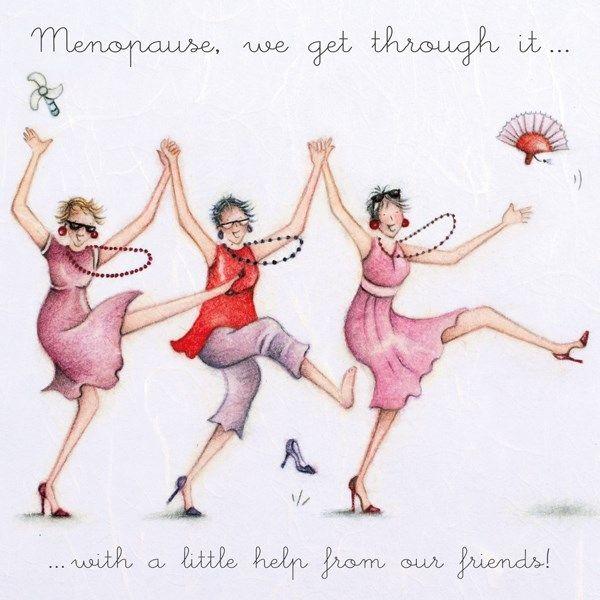 Friend Birthday Card - MENOPAUSE - Best FRIEND Birthday CARD - MENOPAUSE We