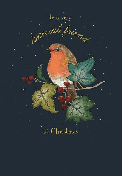 Special Friend Christmas Cards - TO A Very SPECIAL Friend At CHRISTMAS - Ro