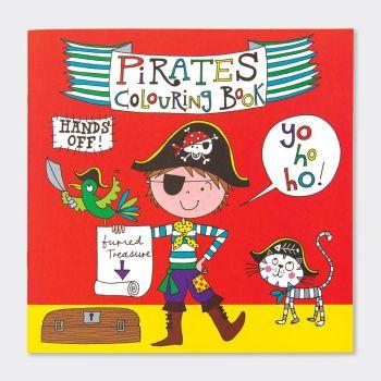 Pirates Colouring Book - CHILDREN'S Colouring BOOK - Colouring BOOKS For BOYS - PARTY Favours - PIRATES COLOURING Books For KIDS