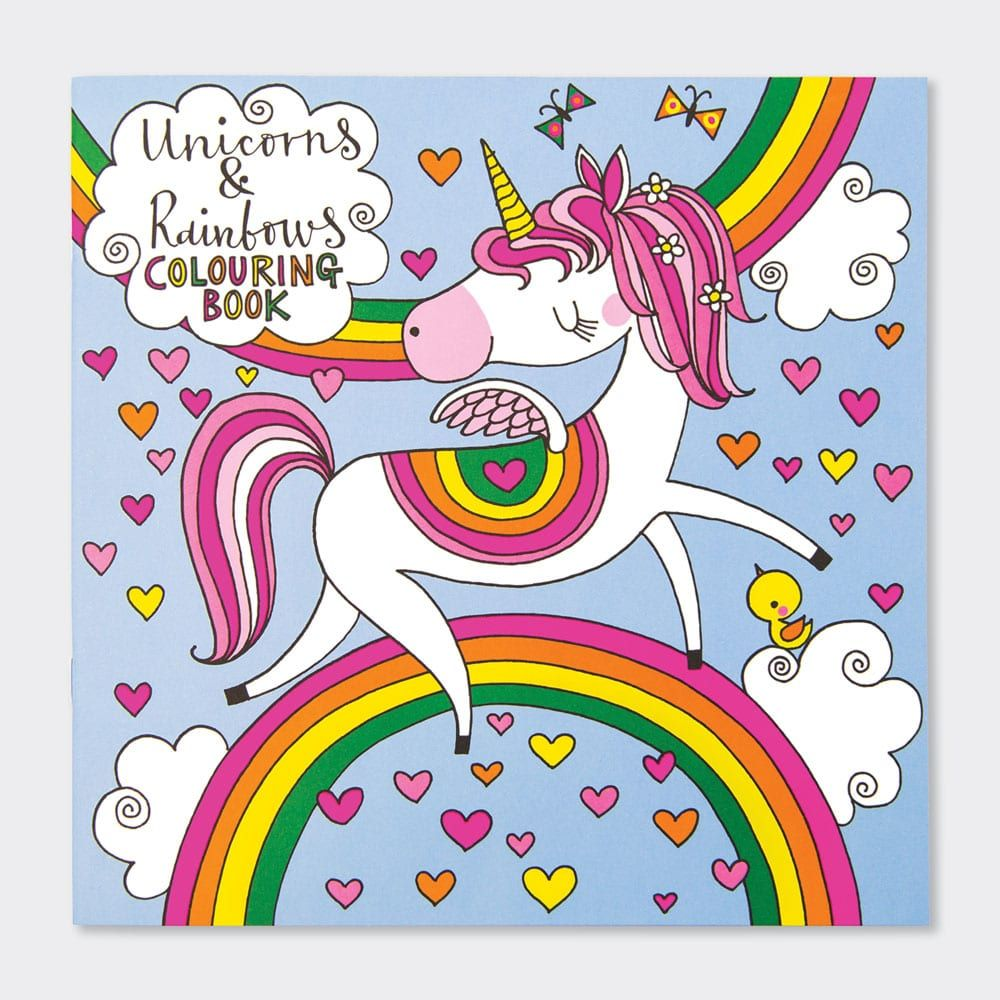 Unicorn Colouring Books - Childrens UNICORN Colouring BOOK - Kids COLOURING
