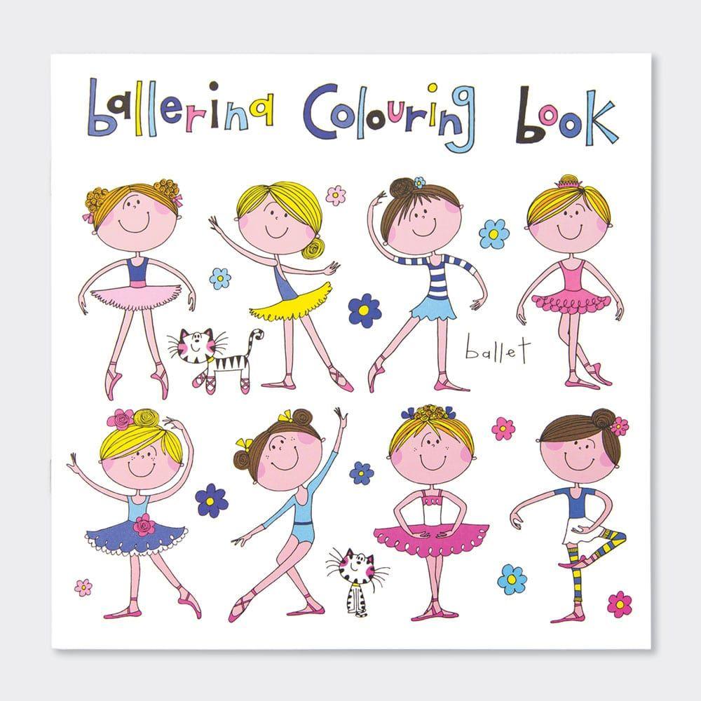 Girls Ballerina Colouring Book - BALLERINA Colouring BOOK - Ballerina COLOU