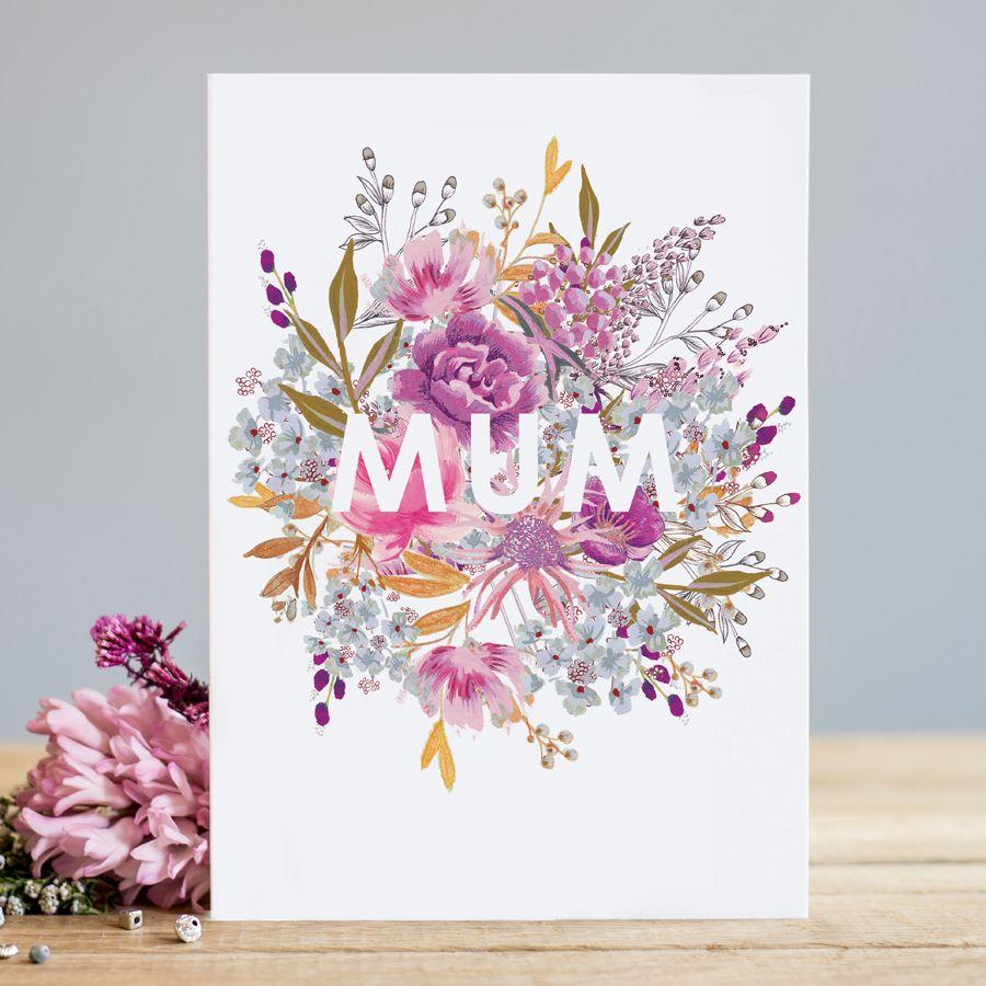 Mum Birthday Cards - MUM - Birthday CARDS For MUM - Birthday CARD Mum - Pre