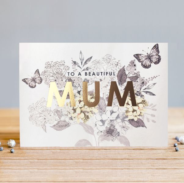 Mum Birthday Cards - To A BEAUTIFUL Mum - BIRTHDAY Cards For MUM - Greeting