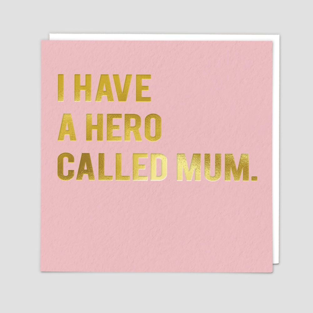 Mum Birthday Cards - I Have A HERO Called MUM - Birthday CARDS For MUM - Pr