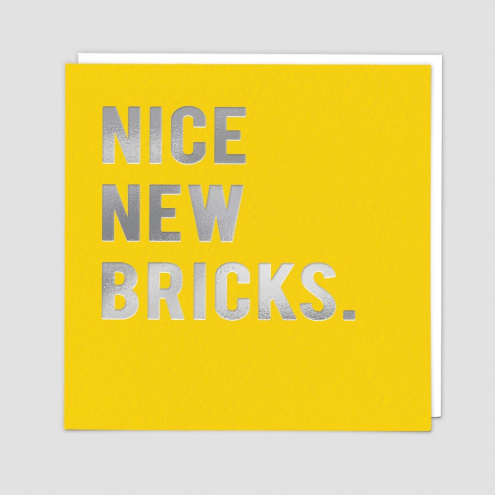 New Home Greeting Cards - NICE New BRICKS - New HOME Cards - NEW Home & New