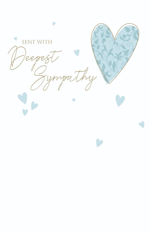 Sympathy Cards - SENT With DEEPEST Sympathy - SYMPATHY & Condolence CARDS -