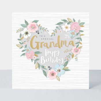 Granny Birthday Cards - To A SPECIAL Grandma - GRANDMA Birthday CARDS - HAPPY Birthday GRANDMA - Grandma CARDS - Birthday CARDS For GRANDMA