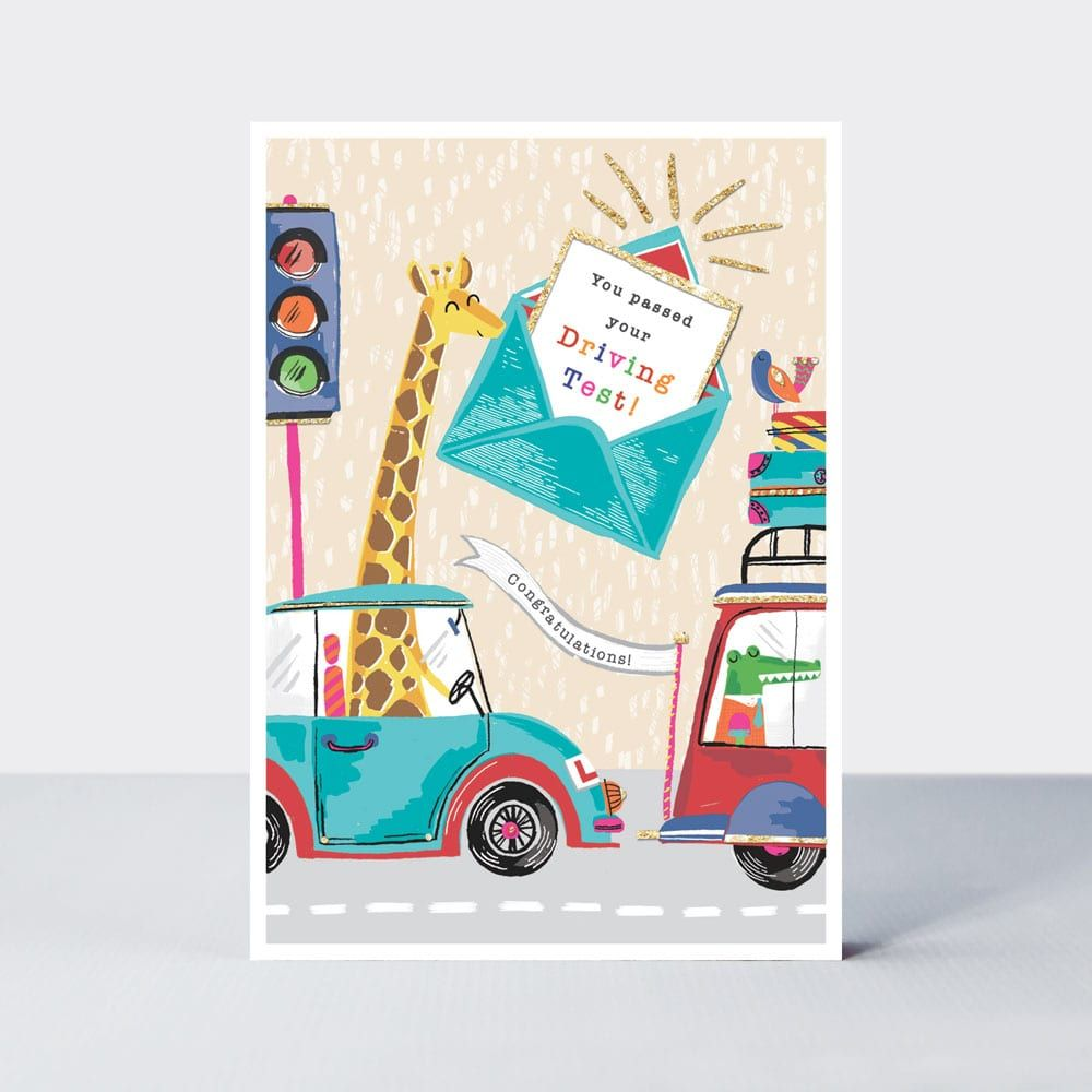 Passed Driving Test Cards - You PASSED Your DRIVING TEST - Cute DRIVING Tes