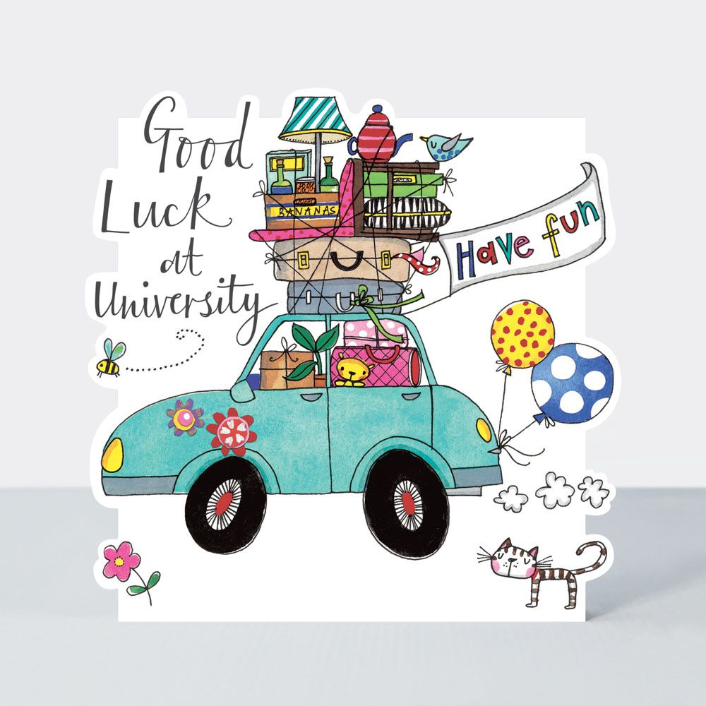 Good Luck At University Cards - HAVE FUN - Good LUCK At UNI Cards - FUNNY G
