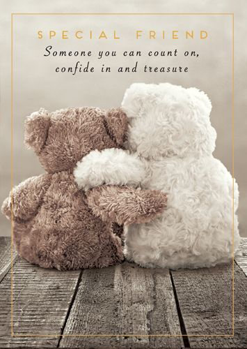 Special Friend Cards - SOMEONE You Can COUNT On - BIRTHDAY Cards FOR Friend