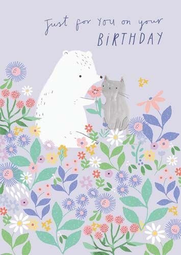 Birthday Cards For Her - JUST For You On YOUR BIRTHDAY - Birthday CARDS For