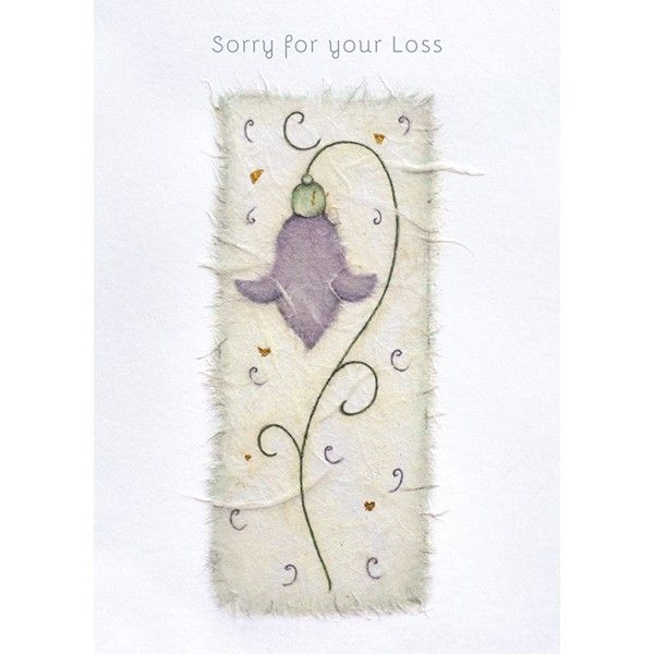 Sympathy Cards - SORRY For Your LOSS - Bereavement CARDS - Condolence CARDS