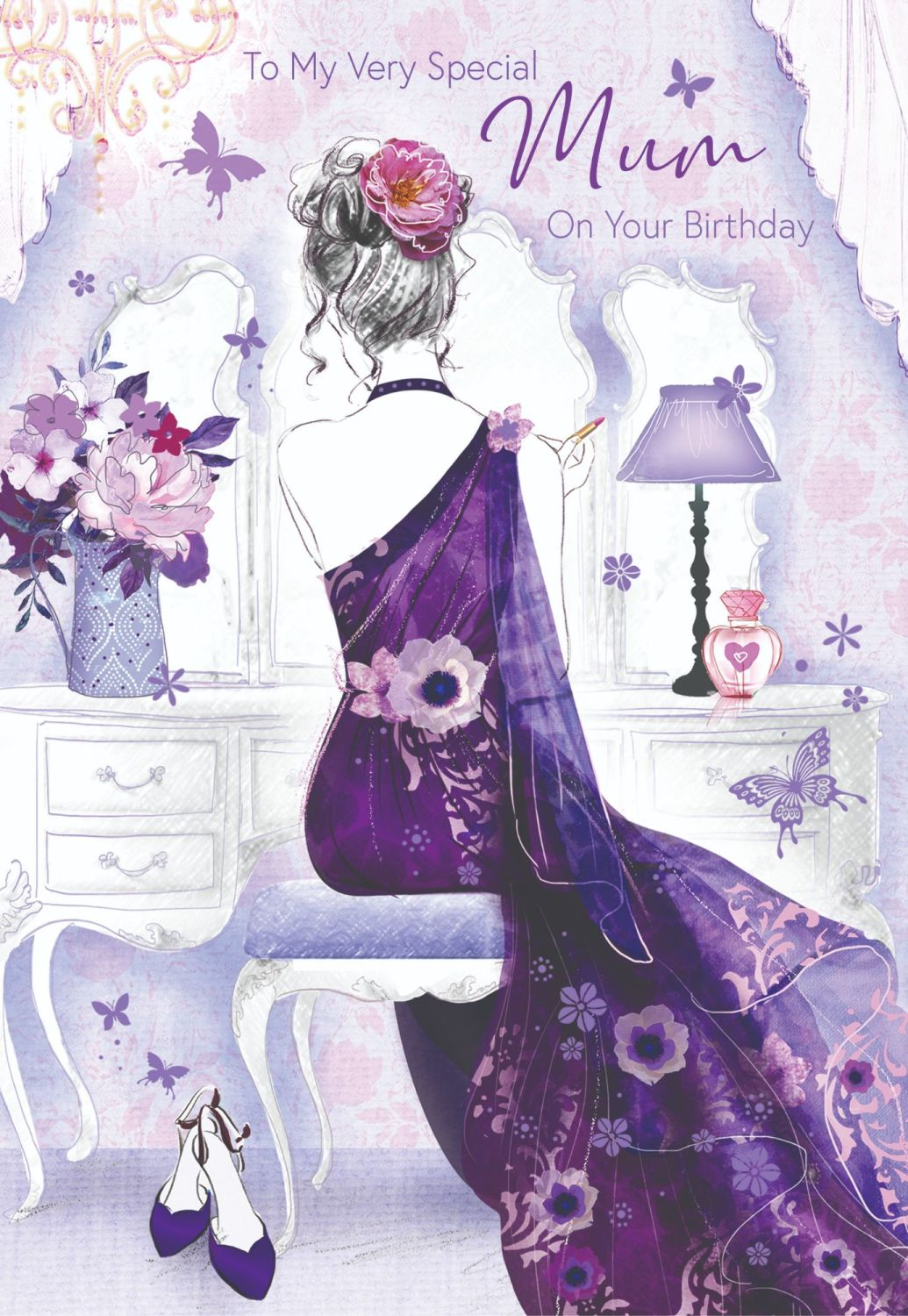 To My Very Special Mum Birthday Card - BIRTHDAY Cards FOR Mum - BEAUTIFUL M