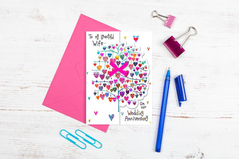 HANDMADE GREETING CARDS - ANNIVERSARY - BIRTHDAYS