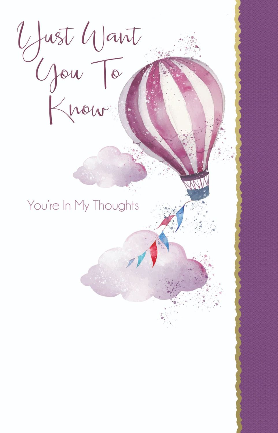 Thinking Of You Cards - I JUST Want You To KNOW - You're IN My THOUGHTS - C