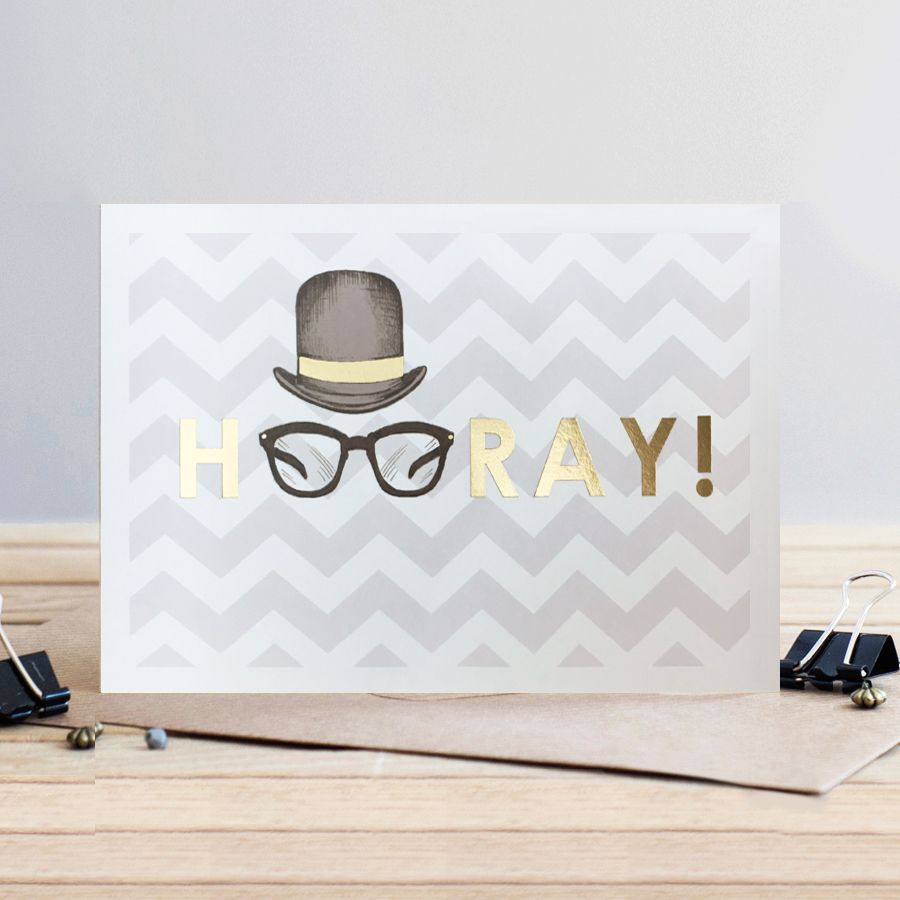 Congratulations Card - HOORAY - Funny CONGRATULATIONS Cards -  Hooray GREET