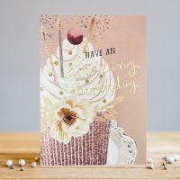 Birthday Card - Birthday Cake Card - HAVE An AMAZING Birthday - BEAUTIFUL Cake CARD -  BIRTHDAY Cake CARD For  MUM - Aunty - FRIEND - Sister