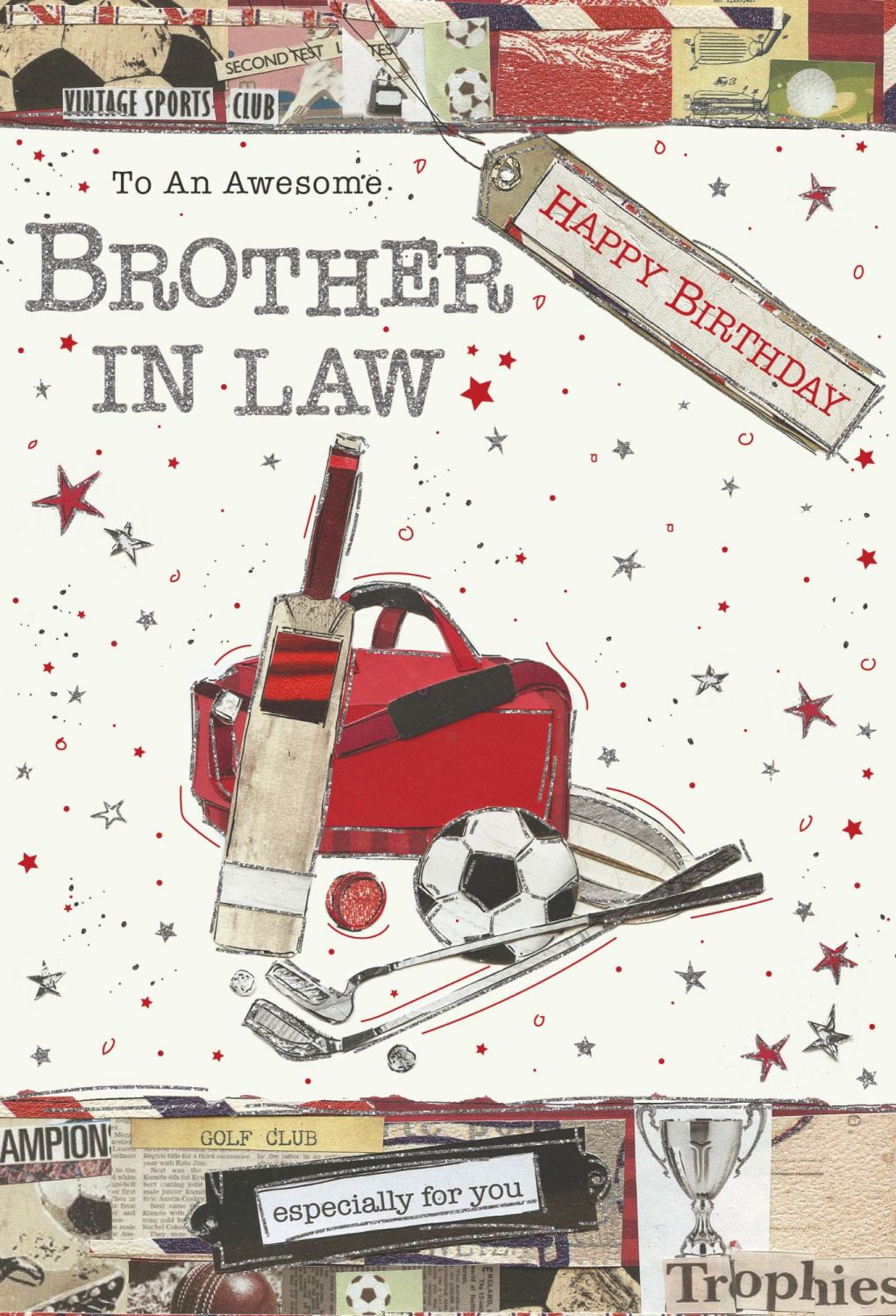 Awesome Brother In Law Birthday Card - ESPECIALLY For YOU - Happy BIRTHDAY