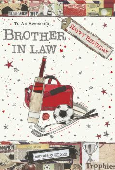Awesome Brother In Law Birthday Card - ESPECIALLY For YOU - Happy BIRTHDAY Brother IN Law CARD - Birthday CARDS For BROTHER In LAW - Birthday CARDS