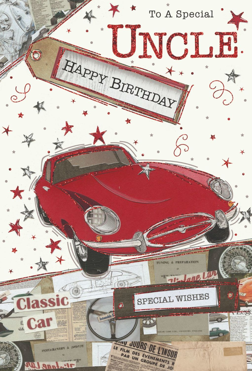 To A Special Uncle Birthday Card - HAPPY BIRTHDAY - Uncle BIRTHDAY Cards -