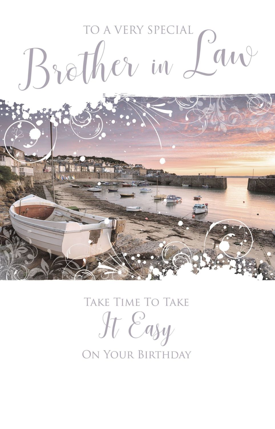 Special Brother In Law Birthday Cards - TAKE Time To TAKE It EASY - Birthda