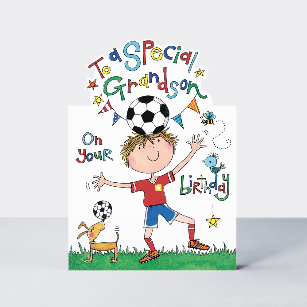 Special Grandson Birthday Cards - TO A Special GRANDSON On Your BIRTHDAY -