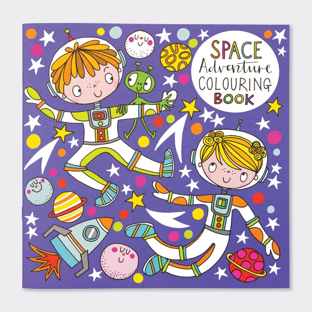 Space Adventure Colouring Books - Childrens OUTER Space Colouring BOOK - Ki