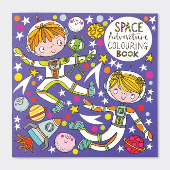 Space Adventure Colouring Books - Childrens OUTER Space Colouring BOOK - Kids COLOURING Books - FUN Outer SPACE COLOURING With PLANETS  & Astronauts