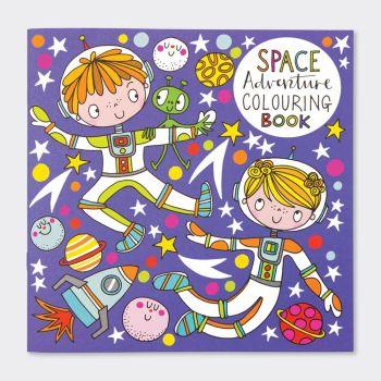 Space Adventure Colouring Books - Children's OUTER Space Colouring BOOK - Kids COLOURING Books - FUN Outer SPACE COLOURING With PLANETS  & Astronauts