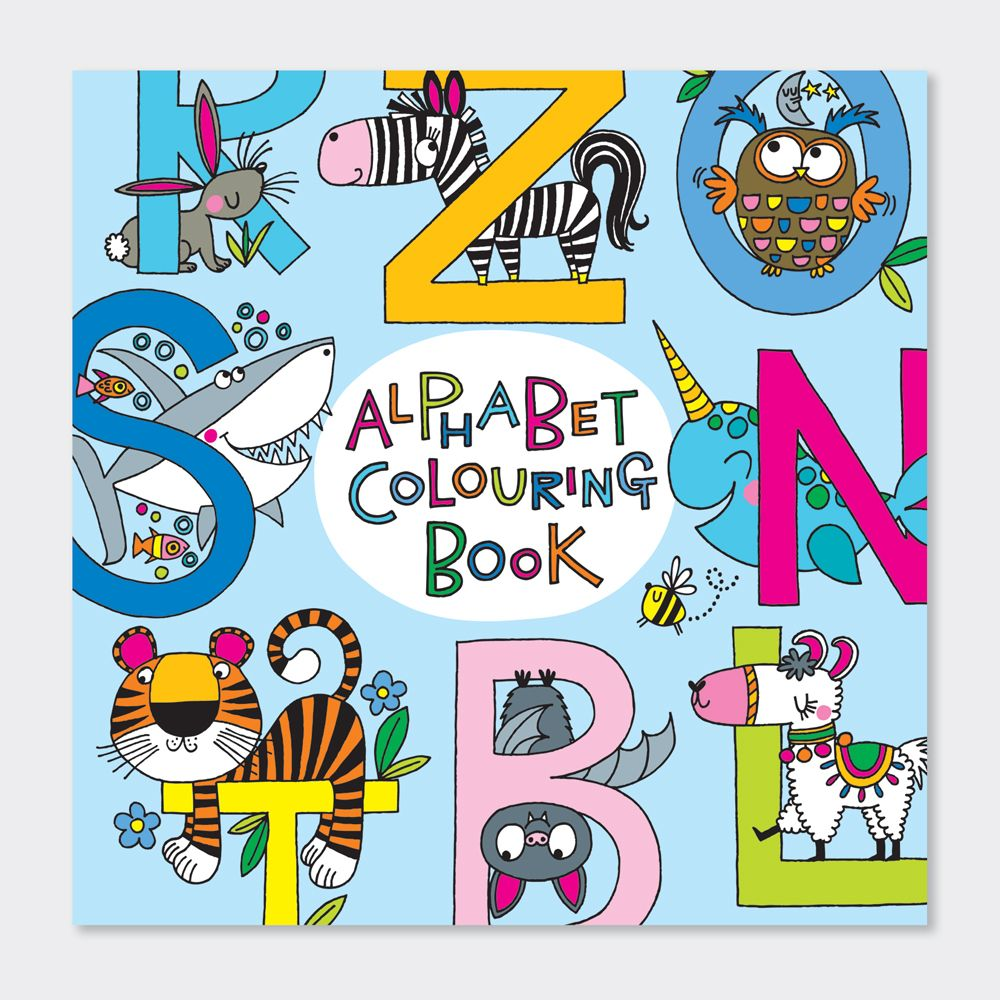Animal Alphabet Colouring Books - Childrens ALPHABET Colouring BOOK - Kids