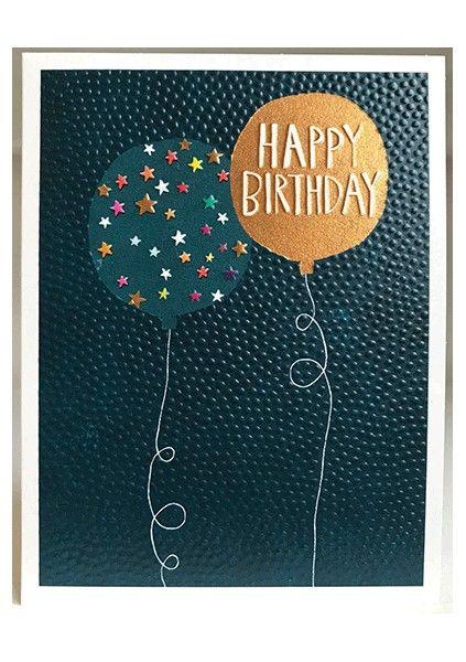 Happy Birthday Cards - HAPPY BIRTHDAY - Colourful BIRTHDAY Card - FUN Birth