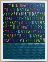 Happy Birthday Cards - HAPPY BIRTHDAY - Colourful BIRTHDAY Card - FUN Birthday CARDS For HIM - Birthday CARD For SON - FRIEND - Cousin - STEPSON