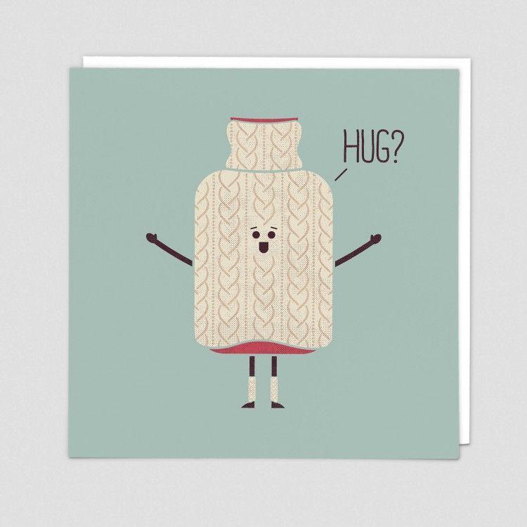Hug Cards - HUGS? - Funny HUG Cards - ISOLATION - Social DISTANCE - Lockdow