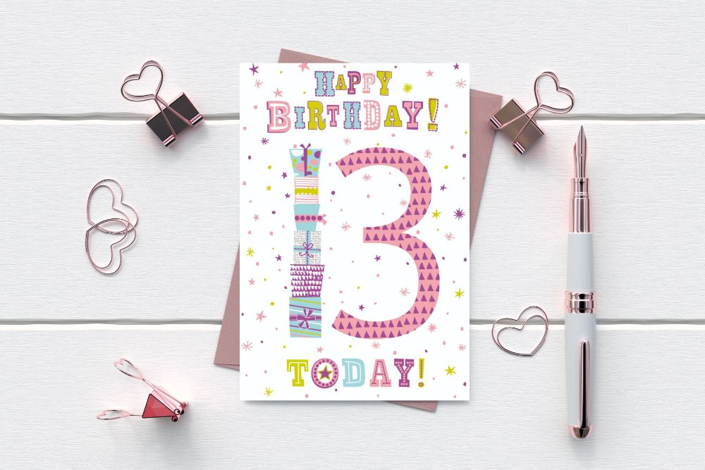 AGE BIRTHDAY CARDS 1 - 100 YEARS - SALE