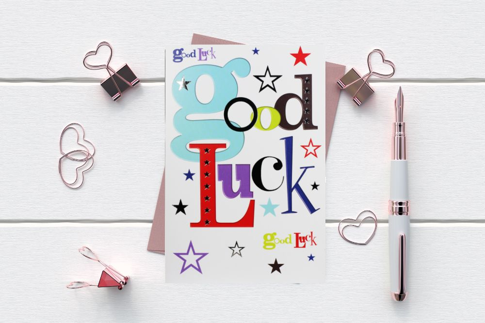 GOOD LUCK - NEW HOME CARDS - SALE