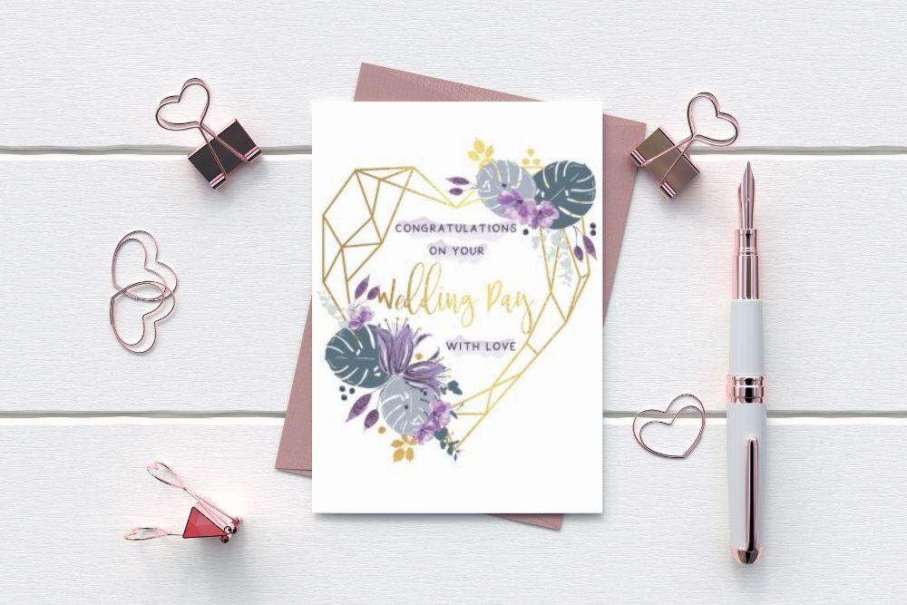 WEDDING - WEDDING CONGRATULATIONS CARDS