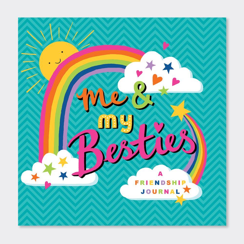 Children's Friendship Journal - ME & My BESTIES Friendship JOURNAL - Activi