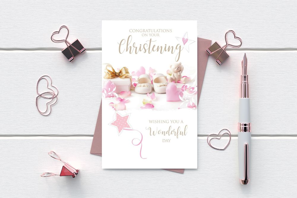 CHRISTENING GREETING CARDS