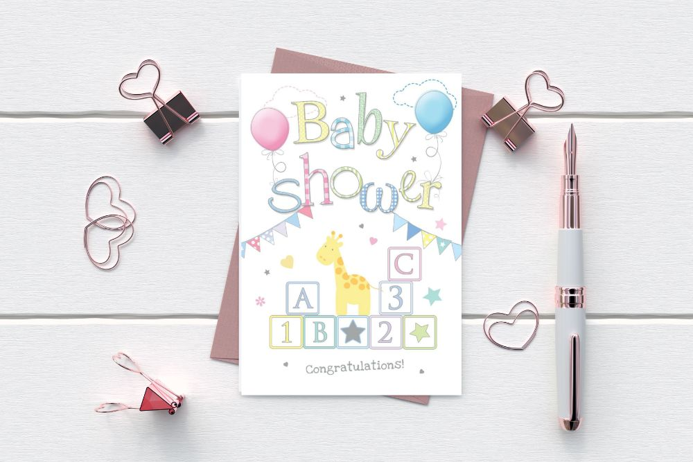 NEW BIG BROTHER - BIG SISTER - BABY SHOWER CARDS