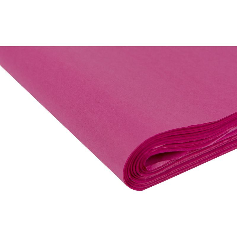 Cerise Pink Tissue Paper - Pack Of 4 - SMALL Recycled TISSUE Paper - GIFT W