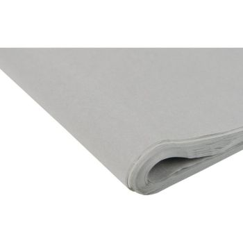 Mid Grey Tissue Paper - Pack Of 4 - SMALL Recycled TISSUE Paper - GIFT Wrapping - GREY Tissue PAPER - Tissue Paper - ARTS & Crafts