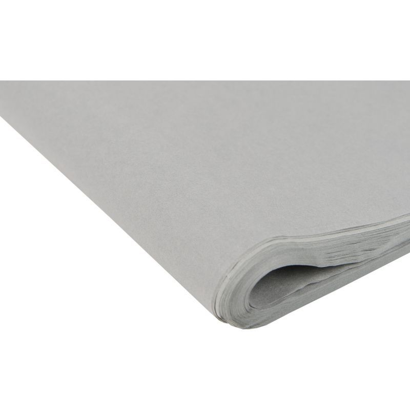 Mid Grey Tissue Paper - Pack Of 4 - SMALL Recycled TISSUE Paper - GIFT Wrap