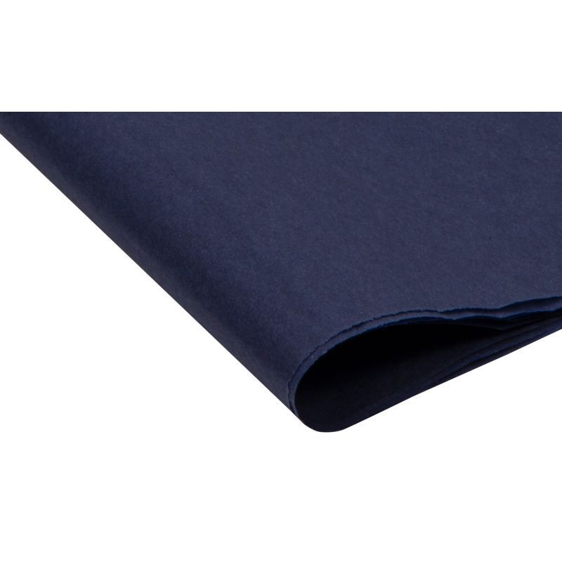Deep Blue Tissue Paper - Pack Of 4 - SMALL Recycled TISSUE Paper - GIFT Wra
