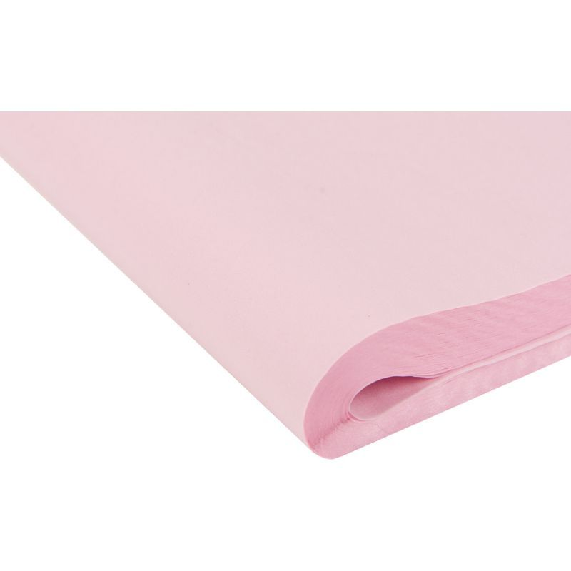 Pale Pink Tissue Paper - Pack Of 4 - SMALL Recycled TISSUE Paper - GIFT Wra